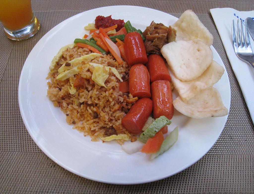 nasi goreng beef